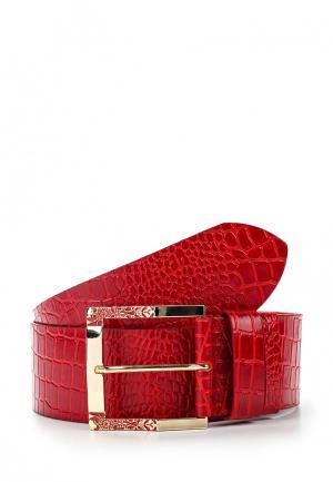 Ремень Olio Rosti. Цвет: красный