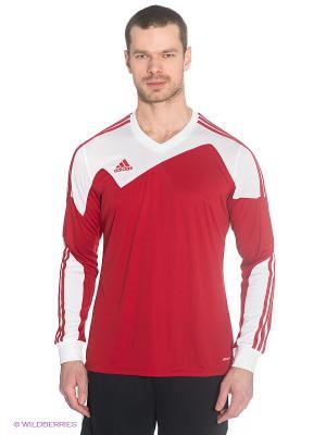 Лонгслив Toque13 Jersey Adidas. Цвет: красный, белый