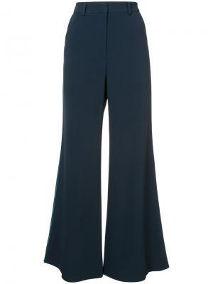 Широкие классические брюки Peter Pilotto. Цвет: синий