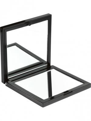Зеркало компактное двойное UBU QVS. Цвет: черный, фиолетовый, фуксия