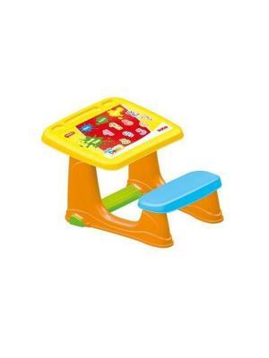 Парта со скамейкой DOLU. Цвет: оранжевый