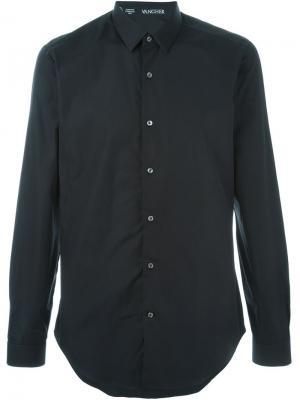 Рубашка с классическим воротником Vangher. Цвет: чёрный