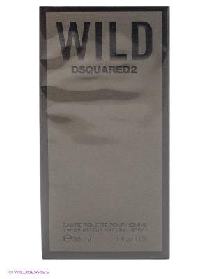 Туалетная вода Wild, 30 мл Dsquared. Цвет: серый