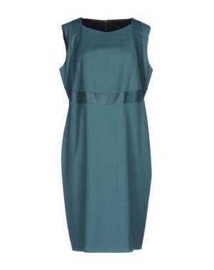 Платье до колена MALAICA. Цвет: светло-зеленый