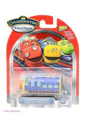 Паровозик Брюстер-инженер Chuggington. Цвет: синий