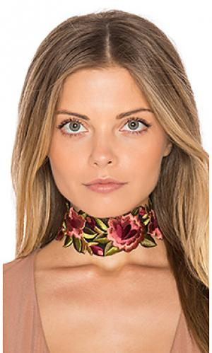 Camilla floral choker Child of Wild. Цвет: розовый