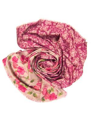 Платок женский, размер 185x70 см Charmante. Цвет: розовый, сиреневый