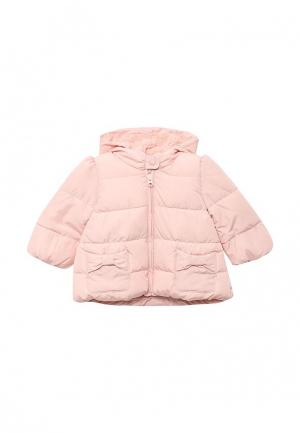 Куртка утепленная Gap. Цвет: розовый