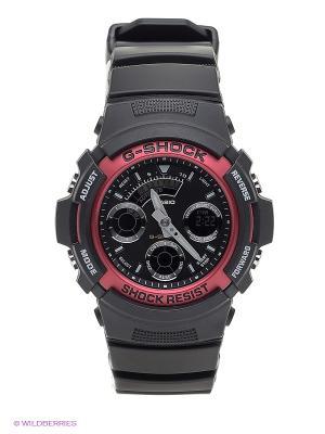 Часы G-SHOCK AW-591-4A CASIO. Цвет: черный