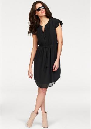 Платье VIVANCE. Цвет: темно-синий, черный