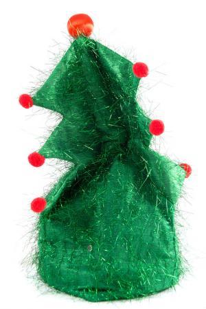 Аксессуар Шапка ёлочка Christmas. Цвет: мультицвет