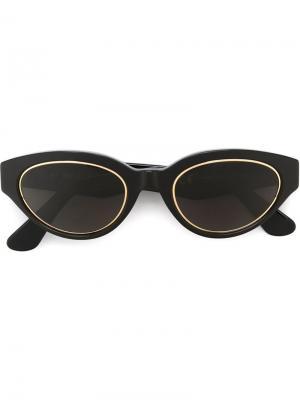 Солнцезащитные очки Drew Impero Retrosuperfuture. Цвет: чёрный