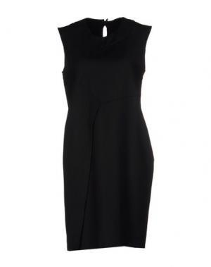 Короткое платье SILENT DAMIR DOMA. Цвет: черный