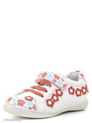 Ботинки Kapika. Цвет: белый