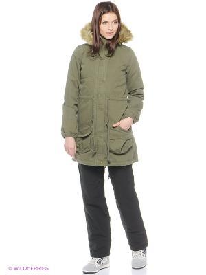Куртка Shrp Prk Adidas. Цвет: зеленый