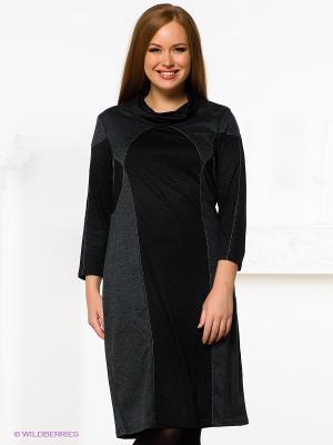 Платье SVESTA. Цвет: темно-серый