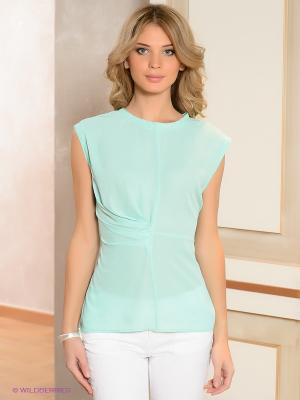 Блузка ZENDRA. Цвет: бирюзовый