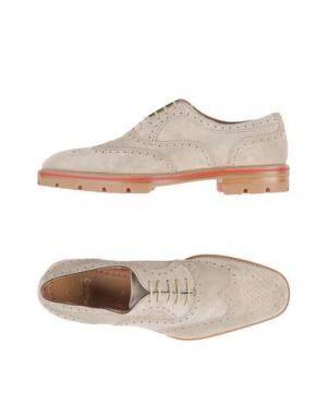 Обувь на шнурках CHRISTIAN LOUBOUTIN. Цвет: светло-серый