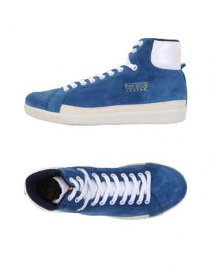 Высокие кеды и кроссовки PANTOFOLA D'ORO. Цвет: грифельно-синий
