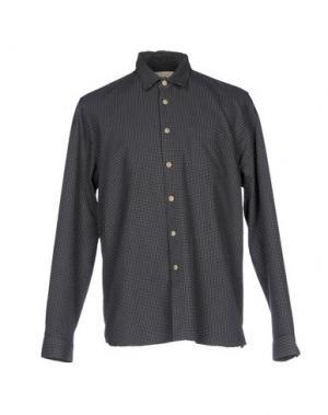 Pубашка FOLK. Цвет: стальной серый