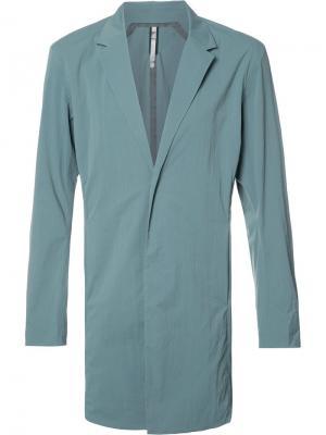 Удлиненный пиджак Arcteryx Veilance Arc'teryx. Цвет: синий