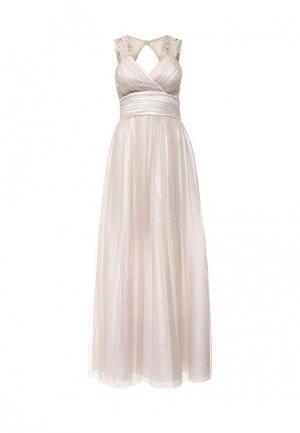 Платье Apart. Цвет: бежевый