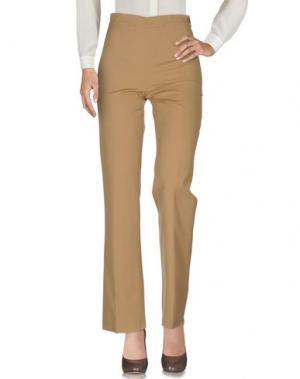Повседневные брюки TOMASO. Цвет: верблюжий