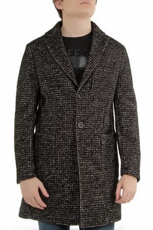 Пальто ALBION. Цвет: коричневый