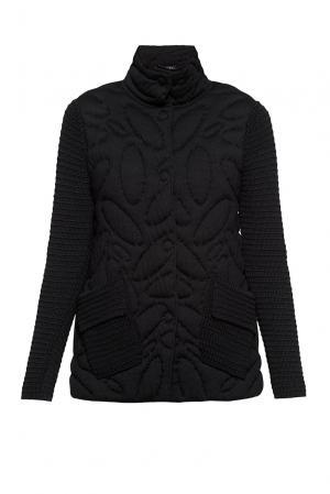 Куртка из шерсти 191551 Baroni. Цвет: черный