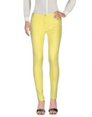 Повседневные брюки CAFèNOIR. Цвет: желтый