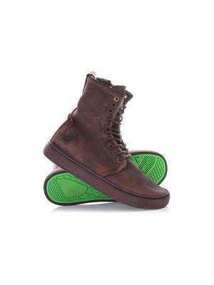 Ботинки Satorisan. Цвет: темно-коричневый