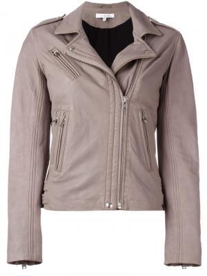 Куртка Han Iro. Цвет: серый