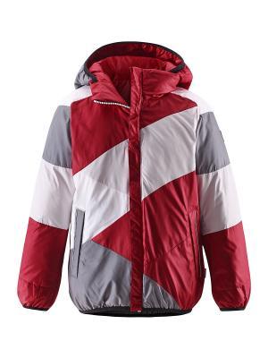 Куртка Reima. Цвет: красный