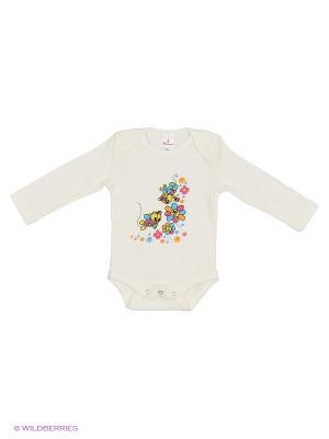 Пижама ясельная MP0102 04 цвет экрю, пчелки Квирит. Цвет: молочный