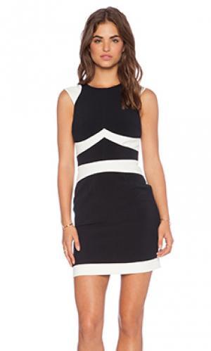 Платье noga Hunter Bell. Цвет: черный