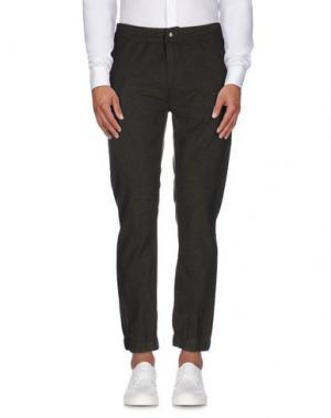 Повседневные брюки INDIVIDUAL. Цвет: зеленый-милитари