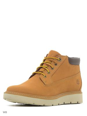 Ботинки TIMBERLAND. Цвет: рыжий