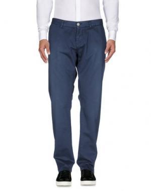 Повседневные брюки 2 MEN. Цвет: темно-синий