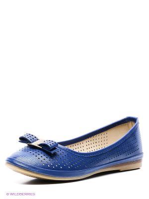 Балетки Wilmar. Цвет: синий