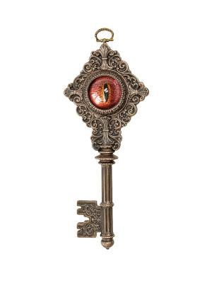 Панно Ключ с глазом Дракона Veronese. Цвет: бронзовый