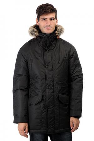 Куртка парка  Alaska Black Anteater. Цвет: черный
