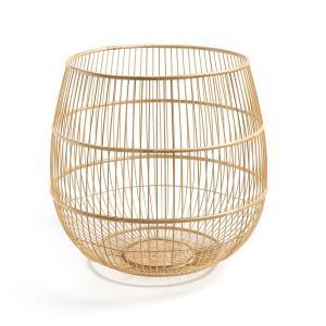 Корзина ручной работы из бамбука, Midori AM.PM.. Цвет: серо-бежевый