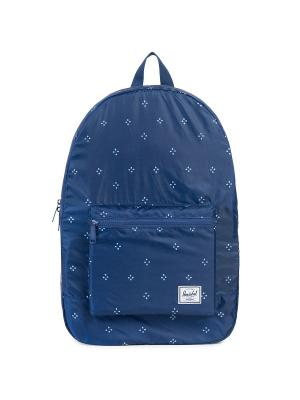 Рюкзак PACKABLE DAYPACK (A/S) Herschel. Цвет: темно-синий