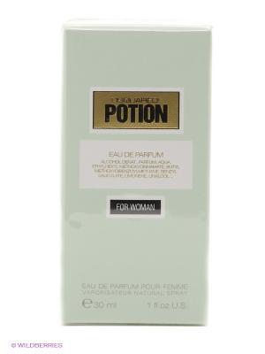 Парфюмированная вода POTION FOR WOMAN, 30мл Dsquared. Цвет: светло-зеленый