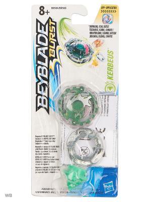 Бейблэйд: волчок Hasbro. Цвет: зеленый, светло-зеленый