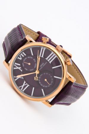 Часы IBSO. Цвет: золото, фиолетовый