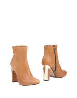 Полусапоги и высокие ботинки CARLO PAZOLINI. Цвет: верблюжий