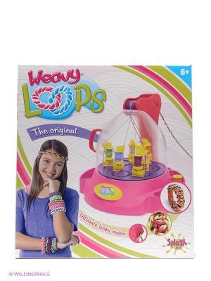 Машинка для плетения шнурочков Splash Toys. Цвет: белый, голубой, зеленый, розовый