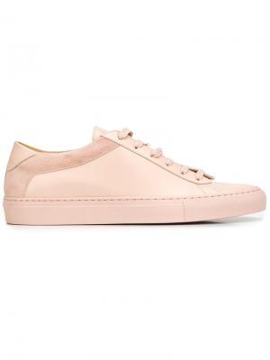 Кеды Capri Fiore Koio. Цвет: розовый и фиолетовый
