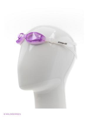Очки для плавания EMDI. Цвет: фиолетовый